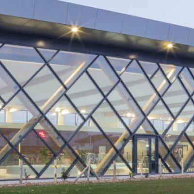 L'ondine Centre Aquatique Estaires panneaux composites TIM Composites