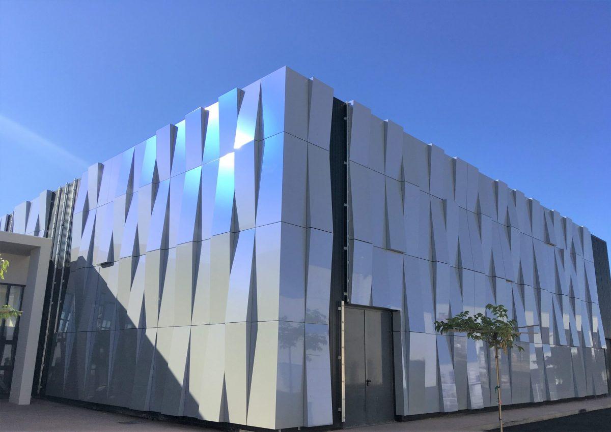 panneau composite aluminium panneau alu composite Le Cosec Porto-Vecchio TIM Composites