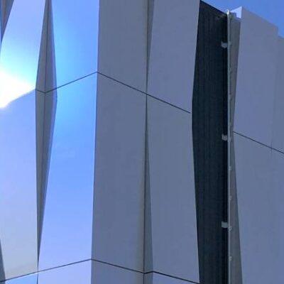 Le Cosec Porto-Vecchio panneaux composites TIM Composites