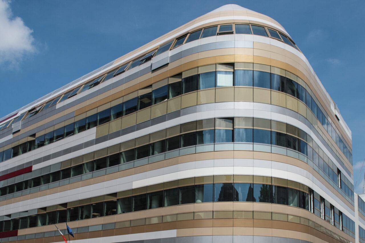 bardage aluminium  bardage alu  Centre Bus le Garance TIM Composites