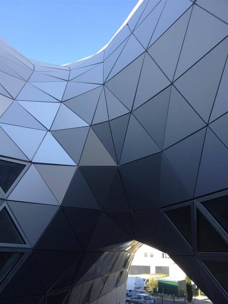 lycée Georges Frèche panneaux composites TIM Composites
