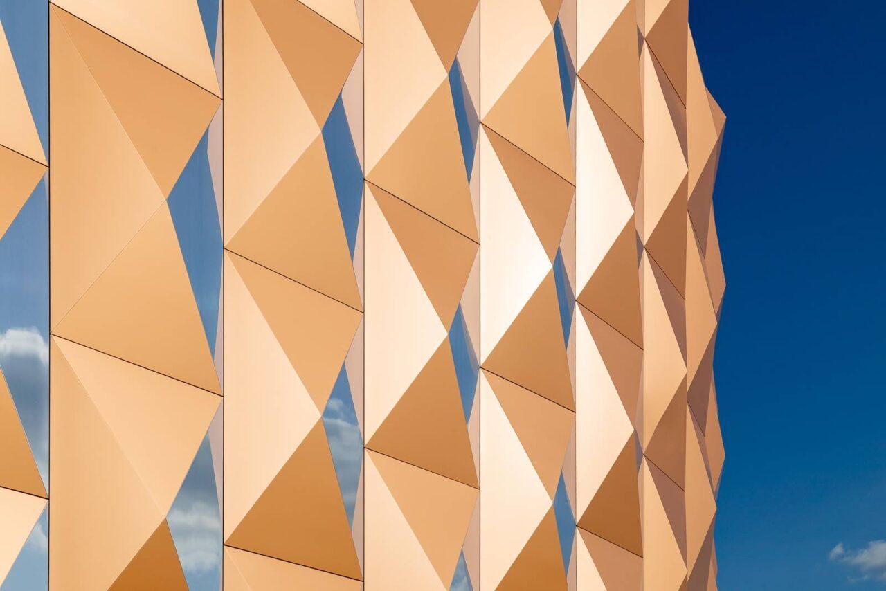 panneau composite aluminium panneau alu composite Promenade de Bretigny TIM Composites