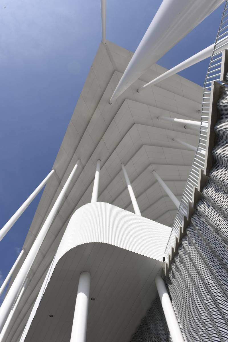 Nouveau Stade de Bordeaux panneaux composites TIM Composites