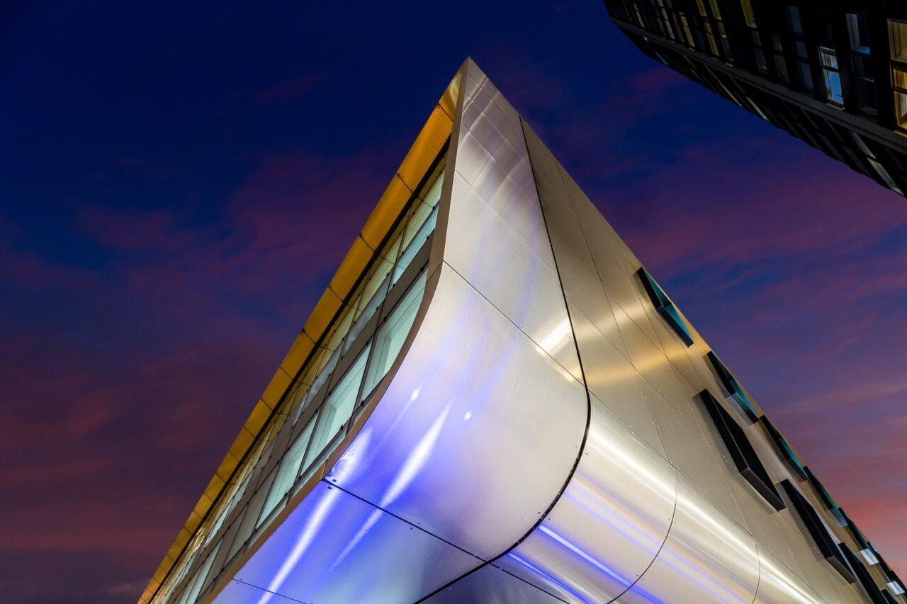 bardage fixations visibles systèmes de poseLe Cordon Bleu Paris  TIM Composites