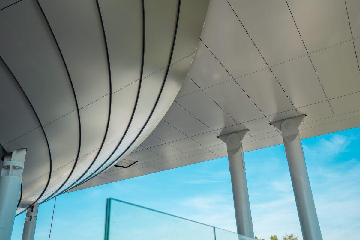 Stade Roland Garros Court Philippe Chatrier panneaux composites TIM Composites