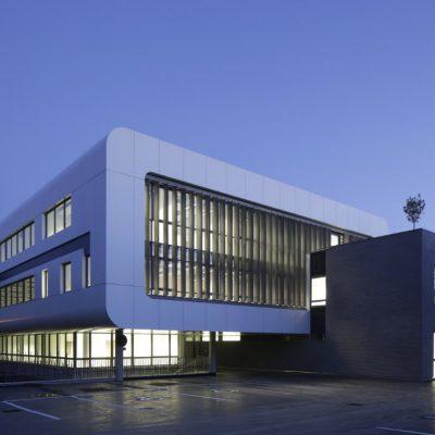Maison de l'Entreprise Innovante panneaux composites TIM Composites